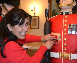 Rosie Cake Diva makes a life sized Grenadier Guard Soldier Cake
