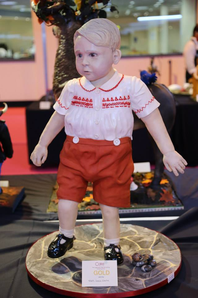 Lara Mason's little Prince George Cake commanded a lot of attention.