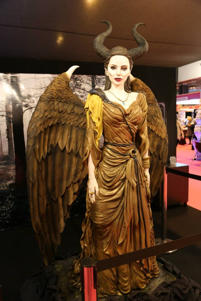 Not in the competition....but a stunning display piece of Maleficent from Emma Jayne Cake Design
