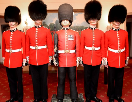 life sized grenadier Guard Cake by Rosie Cake Diva