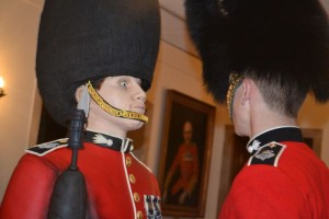 Grenadier Guard Cake at Buckingham Palace