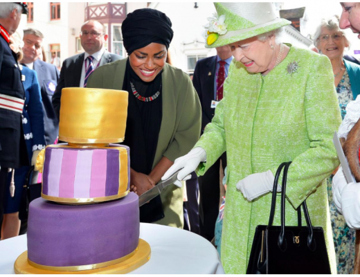 Queen's 90th Birthday Cake