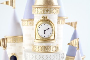 Castle Cake Clock Tower - Rosie Cake Diva with Craftsy