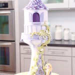 Rapunzel Tower Cake Tangled