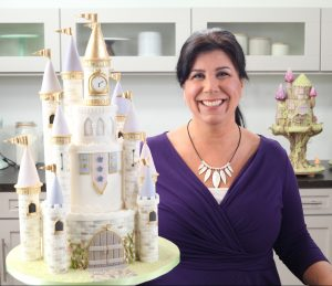 Castle Cakes Towers and Turrets Rosie Cake-Diva in the Craftsy Studio