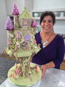 Treehouse cake Fairy