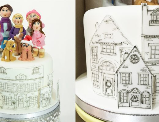 Drawing and Painting on Fondant Icing