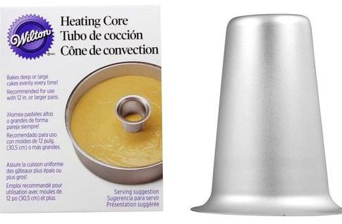 Heating core for best cake baking