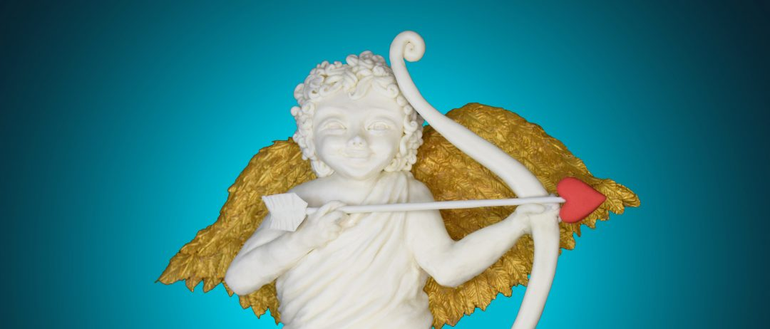 Sculpting Sugar Cupid Cake for Valentine Day
