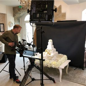 Filming Extreme Cake Makers