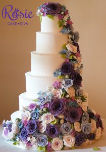 Cake Masters Wedding Cake of the year Rosie Cake Diva